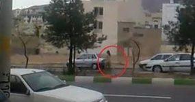 ماجرای دویدن دختر برهنه شیرازی در خیابان چه بود؟