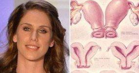 دختر زیبای مدل آمریکایی با دو واژن