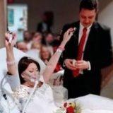مرگ تلخ عروس 18 ساعت بعد از عروسی در آغوش داماد + عکس