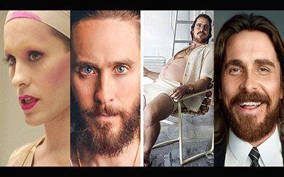 بازیگرانی که استاد تغییر وزن و تغییر چهره هستند