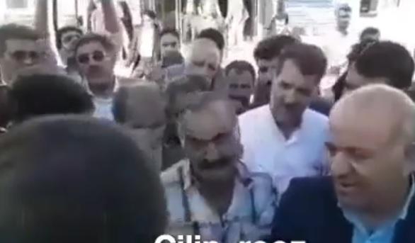بی ادبی وزیر بهداشت به پیرمردی برای فیزیوتراپی