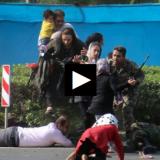 فیلمی دردناک از شهید 4 ساله حادثه تروریستی اهواز