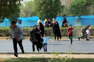حمله تروریستی اهواز, اولین فیلم از حمله تروریستی به رژه نیروهای مسلح در اهواز, حمله تروریستی در اهواز,
