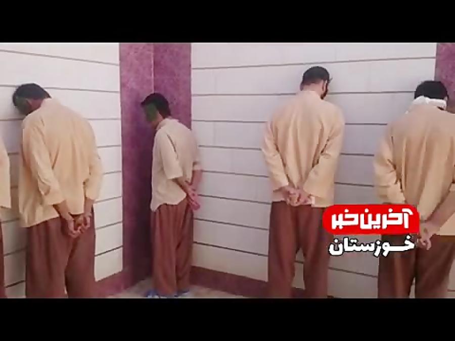 فیلم لورفته از دستگیری تروریست های اهواز