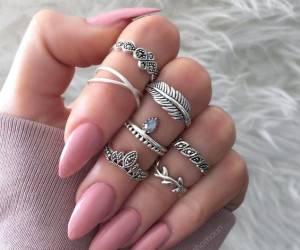 انگشتر بند انگشتی دخترانه طلا و نقره ظریف + تصاویر