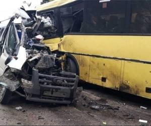 تصادف مرگبار اتوبوس زائران ایرانی در عراق + اسامی