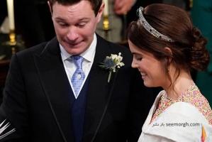 عکس های خصوصی مراسم عروسی پرنسس اوژنی Eugenie منتشر شد