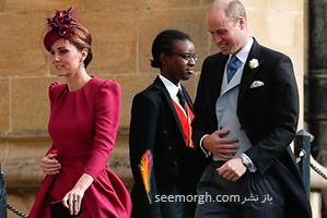 لباس کیت میدلتون و مگان مارکل در عروسی پرنسس اوژنی از کدام برندها بود؟
