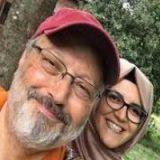 نامزد خاشقجی مرگ وی را اعلام کرد+عکس