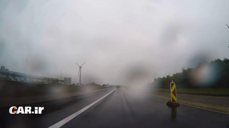 نحوه رانندگی در باران