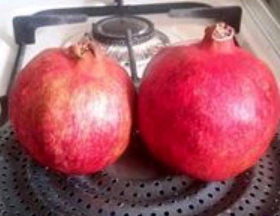 پختن «انار»