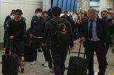 ورود بازیکنان کاشیما با پوشش عجیب
