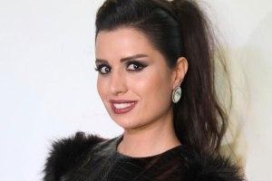 چهره واقعی و بدون حجاب آن ماری سلامه بازیگر سریال در حوالی پاییز! عکس