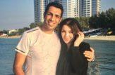 سپهر حیدری به همسرش