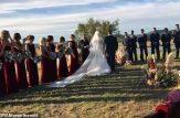سقوط دردناک هلیکوپتر حامل عروس و داماد