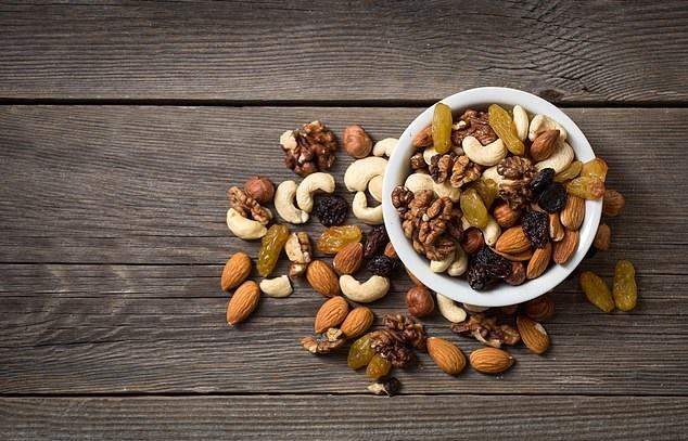 دانههای مغذی آجیل