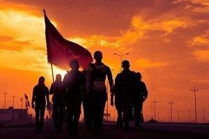 عکس-هنرمندان-در-راهپیمایی-اربعین