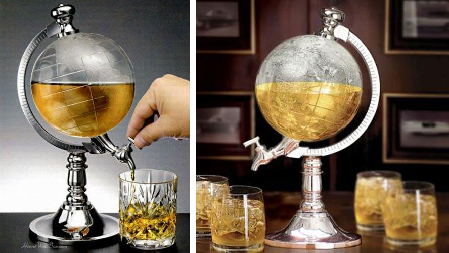 کلمن نوشیدنی طرح کره زمین (1)