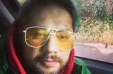 خالکوبی عجیب علی صادقی روی صورتش!