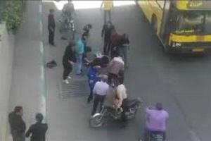 فیلم لحظه خودکشی دو دختر اصفهانی بازی نهنگ آبی