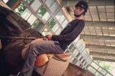 احمد خمینی در اردوی جهادی (تفریح لاکچری)