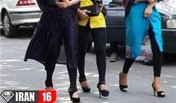 اوج بد حجابی در خیابان ستارخان شیراز