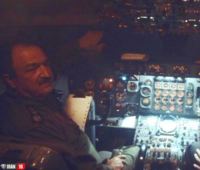 خلبان+هواپیمای+کرجی