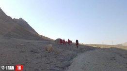 مرگ زن قمی از بالای کوه دوبرادران