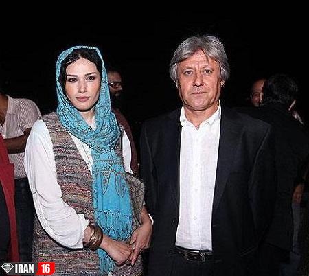عکس بدون حجاب لادن مستوفی همسر شهرام اسدی (5)