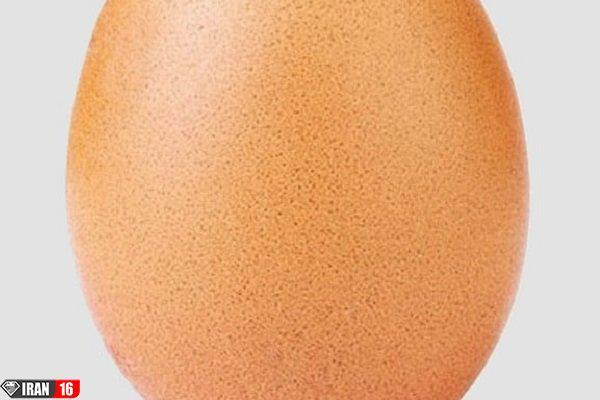 عکس یک تخم مرغ پرلایک ترین عکس اینستاگرام شد!