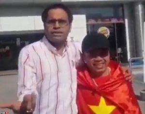عمل زشت و شنیع مجری بوشهری با تماشاگر جوان ویتنامی