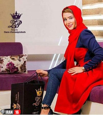 شلوار کوتاه الناز حبیبی + عکس