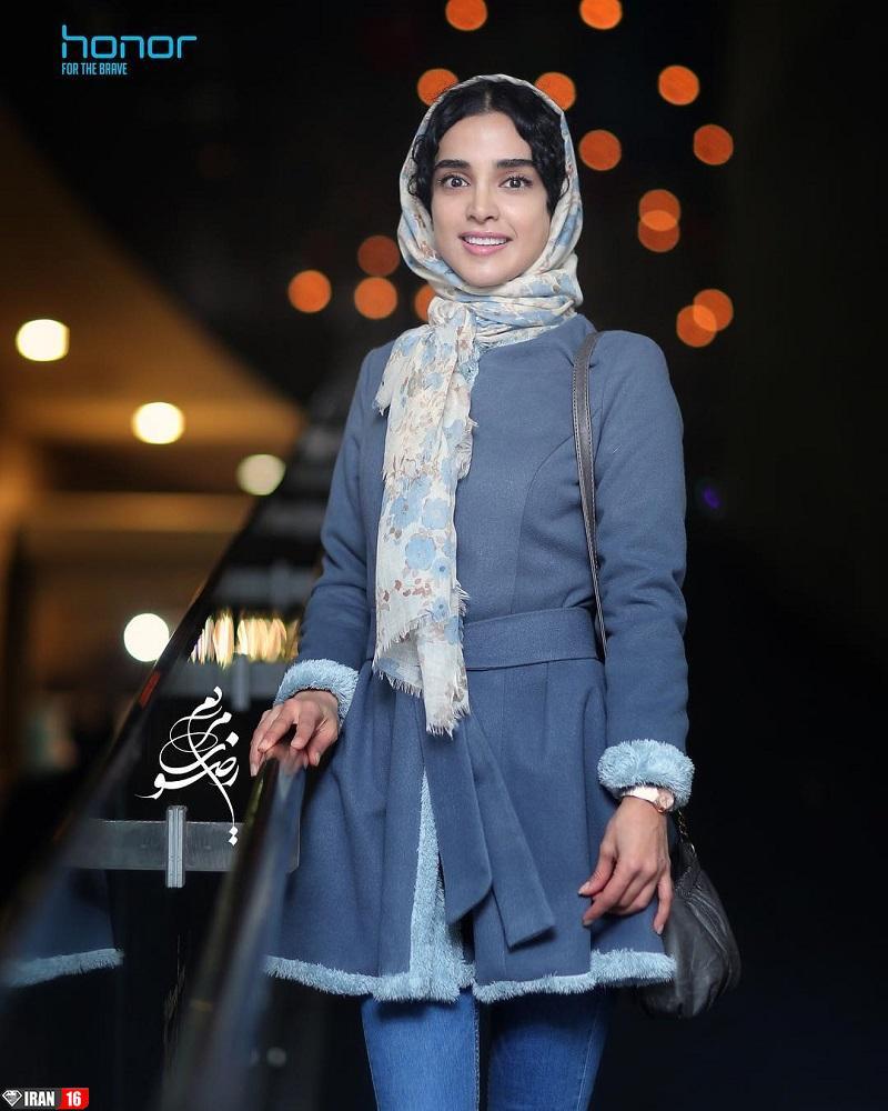 زیباترین بازیگر زن ایرانی الهه حصاری