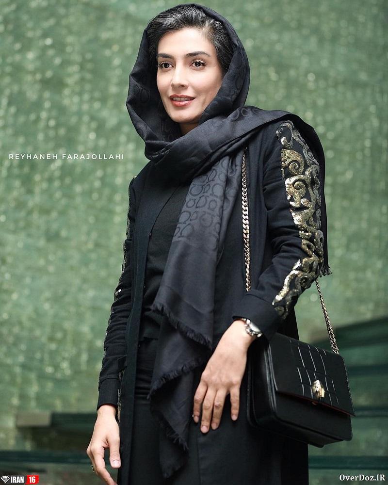 زیباترین بازیگر زن ایرانی لیلا زارع بدحجاب