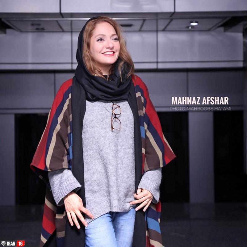 زیباترین بازیگر زن ایرانی مهناز افشار بدون حجاب