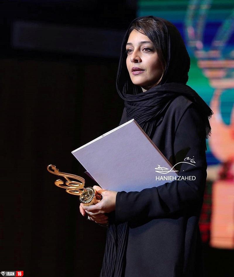 زیباترین بازیگر زن ایرانی ساره بیات بدحجابی