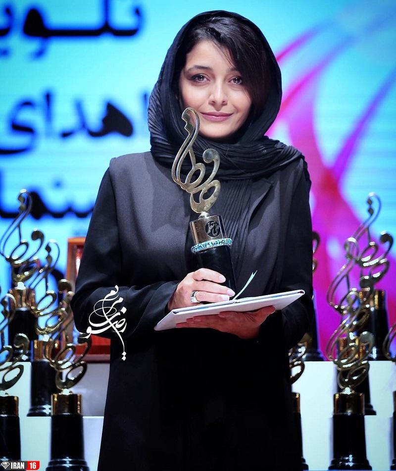 زیباترین بازیگر زن ایرانی ساره بیات بی حجاب