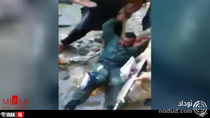 اولین تصویر از ضرب و شتم خلبان هندی پس از سقوط + عکس