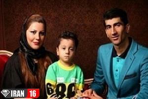 علیرضا بیرانوند و همسرش در جشن تولد دخترشان! عکس