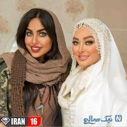 عکس های مراسم عروسی الهام حمیدی (4)