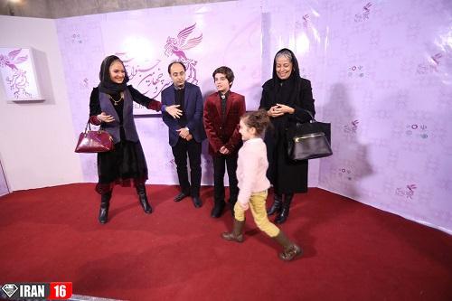 مهناز افشار روی فرش قرمز جشنواره فیلم فجر 97