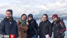 گشت و گذار بازیگران سرشناس ایرانی در کانادا عکس