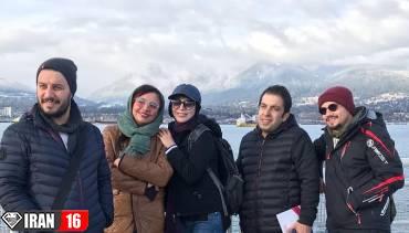 گشت و گذار بازیگران سرشناس ایرانی در کانادا /عکس