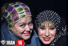 آرایش غلیظ دو بازیگر زن بدحجاب عکس