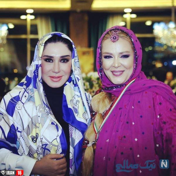 آرایش غلیظ دو بازیگر زن بدحجاب/ عکس