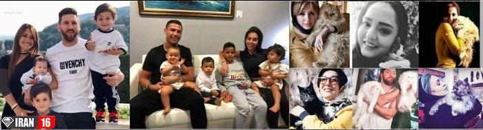 سبلریتیهای ایرانی و غربی با بچه هاشون
