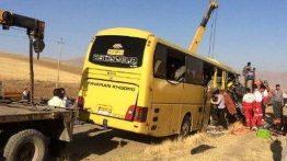 اصفهان-+تصادف+اتوبوس+و+تریلر