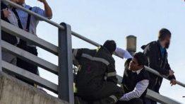 خودکشی دردناک مرد ۴۵ ساله در پل طبیعت تهران