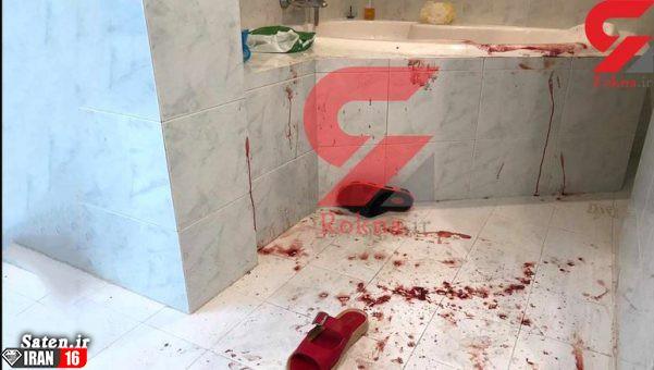 صحنه قتل میترا استاد (نجفی) در وان حمام (عکس ۱۶+)
