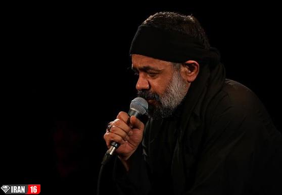 مداحی شب اول محرم ۹۸ با نوای محمود کریمی+فیلم